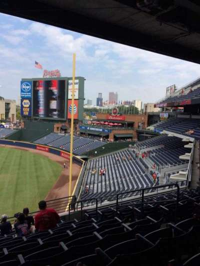 Turner Field, section: 323, row: 9, seat: 104