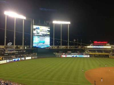 Kauffman Stadium, section: 304, row: C, seat: 17