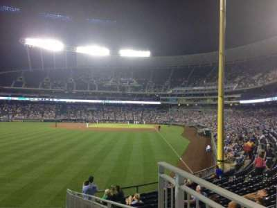 Kauffman Stadium section 106
