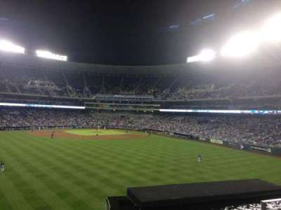 Kauffman Stadium section 201
