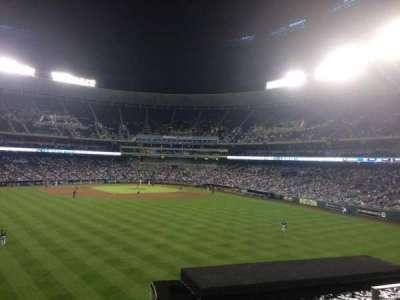 Kauffman Stadium, section: 201, row: D, seat: 18