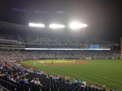 Kauffman Stadium, section: 246, row: AA, seat: 10