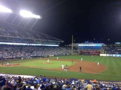 Kauffman Stadium, section: 237, row: FF, seat: 11