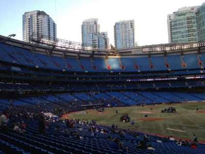 Rogers Centre, section: 114L, row: 17, seat: 109