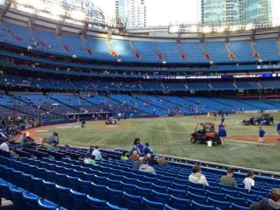 Rogers Centre, section: 116L, row: 15, seat: 104