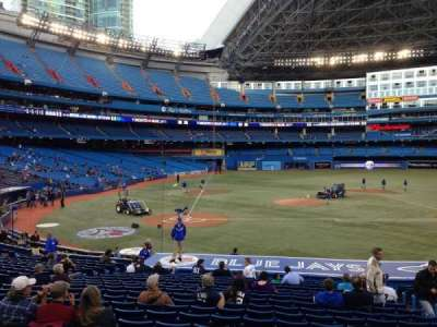 Rogers Centre, section: 118L, row: 26, seat: 107
