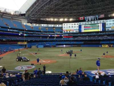 Rogers Centre, section: 119R, row: 21, seat: 8