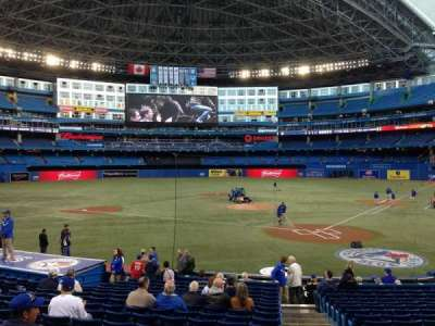 Rogers Centre, section: 123L, row: 21, seat: 101