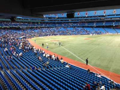 Rogers Centre, section: 110, row: SRO, seat: Standing R