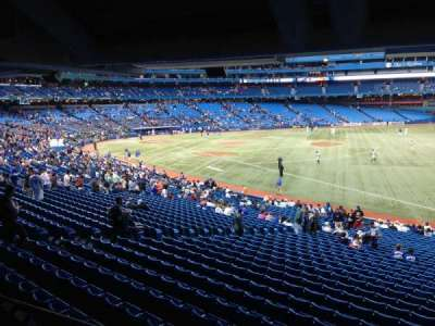 Rogers Centre, section: 112, row: SRO, seat: Standing R