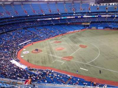 Rogers Centre, section: 516R, row: 12, seat: 12