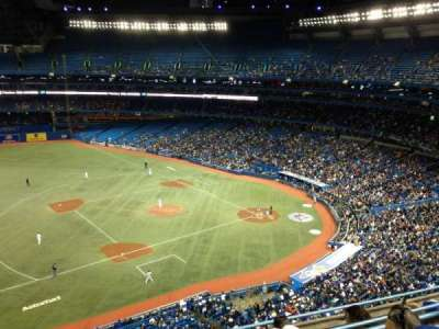 Rogers Centre, section: 532, row: 5, seat: 4