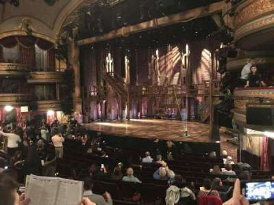 Richard Rodgers Theatre, section: Orchestra, row: P, seat: 24