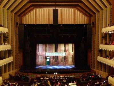 The Smith Center, section: Dress Circle, row: A, seat: 210