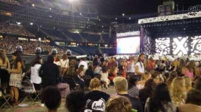 Gillette Stadium, section: B2, row: 30, seat: 19