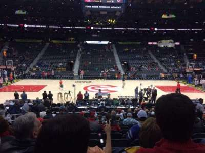 Philips Arena, section: 115, row: Q, seat: 12