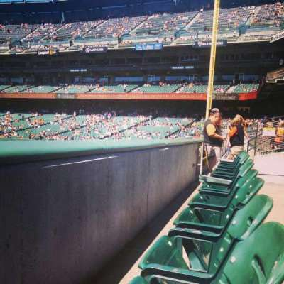 AT&T Park, section: b139, row: 1, seat: 13