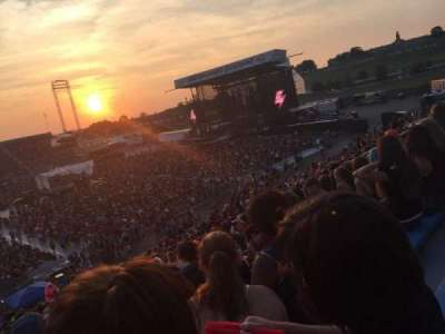 Hershey Park Stadium, section: 28, row: U, seat: 13