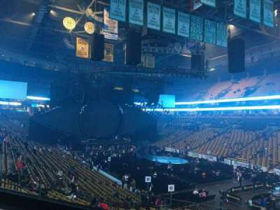 TD Garden, section: LOGE 9, row: 23, seat: 2