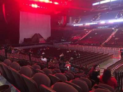 Mohegan Sun Arena, section: 23, row: L, seat: 10