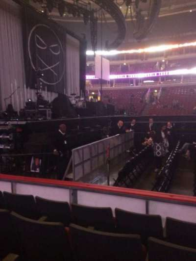 United Center, section: 113, row: 4, seat: 8
