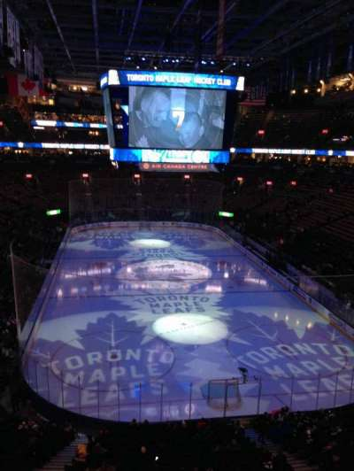 Scotiabank Arena, section: 304, row: 1, seat: 3, 4