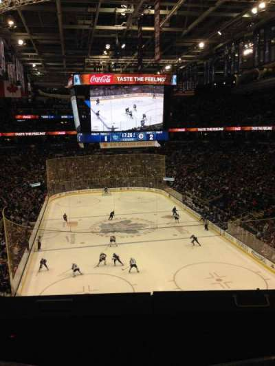 Air Canada Centre, section: 304, row: 1, seat: 3, 4