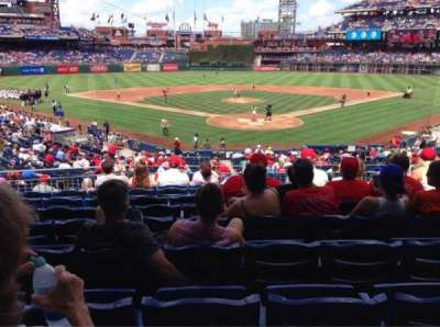Citizens Bank Park section 124