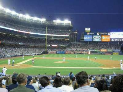 Yankee Stadium, section: 117A, row: 21, seat: 9