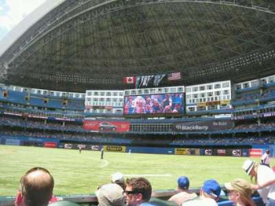 Rogers Centre, section: 115L, row: 3, seat: 107