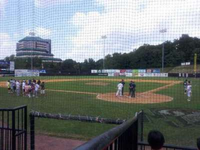 Yogi Berra Stadium, section: H, row: 4, seat: 3
