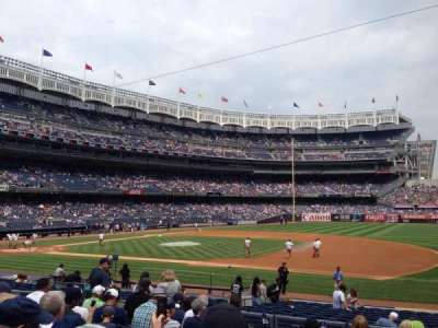 Yankee Stadium section 114b