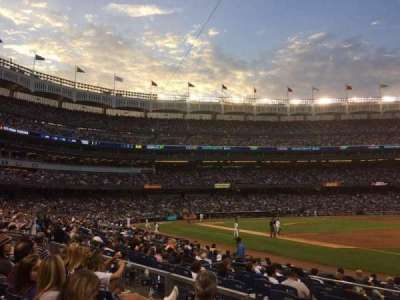 Yankee Stadium section 112