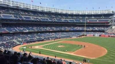 Yankee Stadium, section: 214a, row: 17, seat: 9