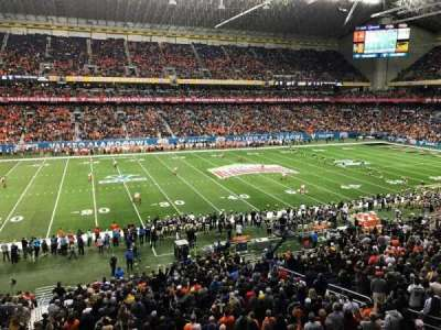Alamodome, section: 214, row: 1, seat: 20