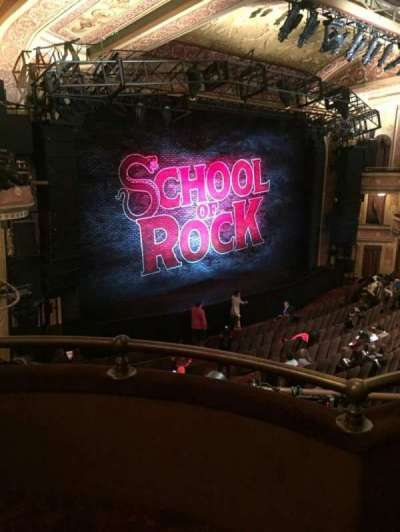 Winter Garden Theatre, section: L Mezz, row: B, seat: 3