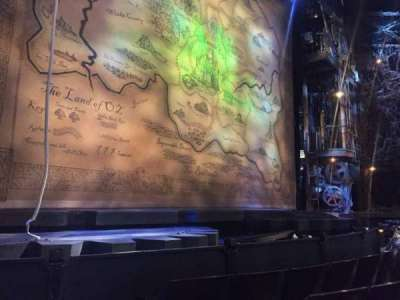 Gershwin Theatre, section: Orchestra L, row: EE, seat: 3