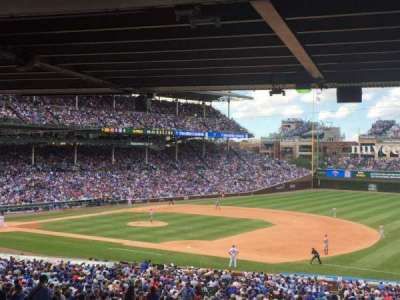 Wrigley Field, section: 235, row: 17, seat: 105