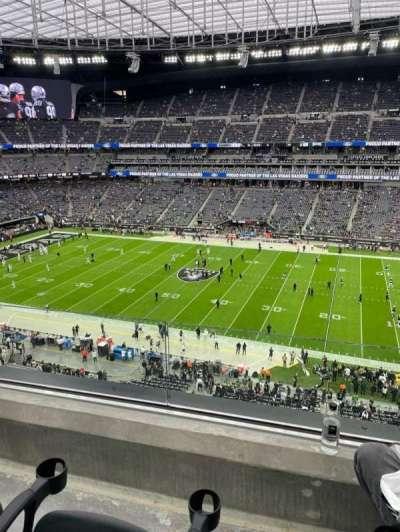 Allegiant Stadium, section: 336, row: 2, seat: 4
