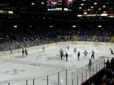 Santander Arena, section: 121, row: R, seat: 5
