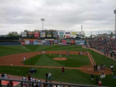 Coca-Cola Park, section: 211, row: A, seat: 7