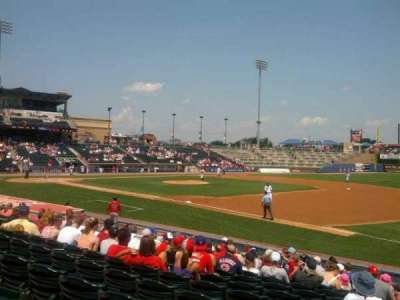 Coca-Cola Park, section: 105, row: P, seat: 19