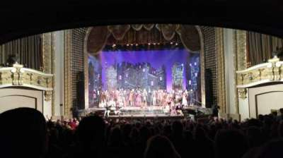 Pabst Theater Section Orchestra Row T Seat 8