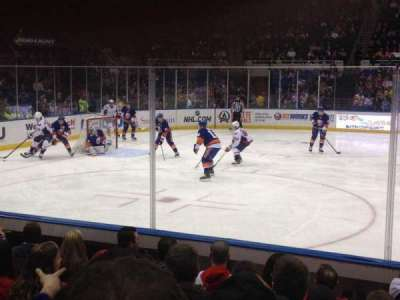 Old Nassau Veterans Memorial Coliseum, section: 118, row: F, seat: 1
