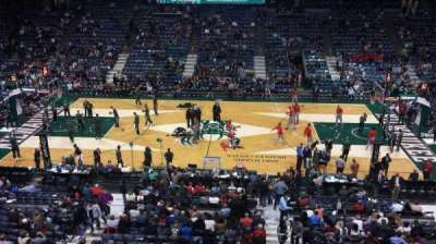 BMO Harris Bradley Center, section: 400, row: A, seat: 2