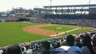 George M. Steinbrenner Field, section: 220, row: P, seat: 12