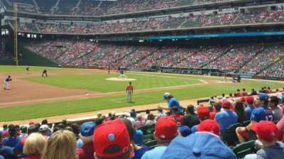 Globe Life Park in Arlington, section: 17, row: 13, seat: 4