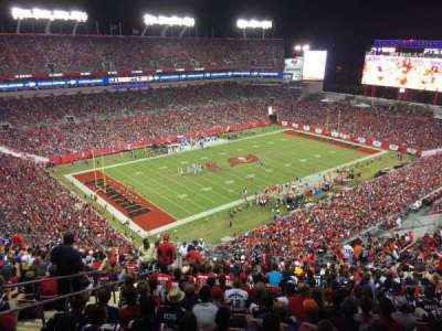 Raymond James Stadium, section: 304, row: BB, seat: 6