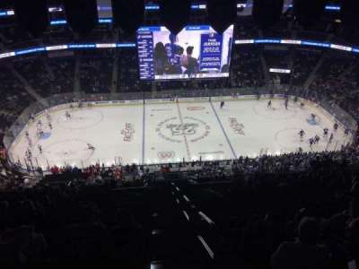 Amalie Arena, section: 301, row: T, seat: 25