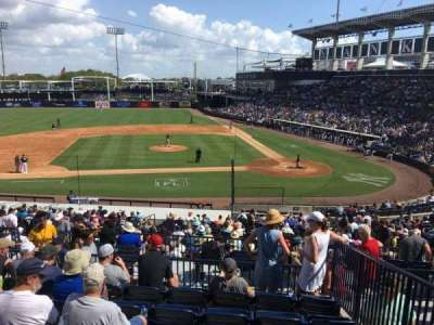 George M. Steinbrenner Field, section: 215, row: G, seat: 11
